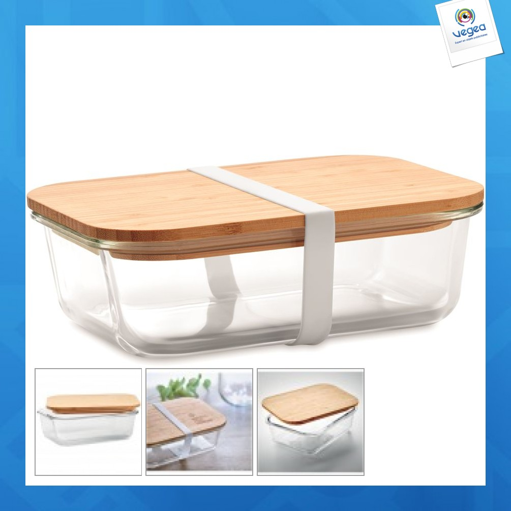 Lunchbox en verre et bambou Lunchbox durable